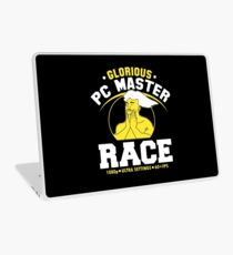glorious pc gaming master race Laptop Skin