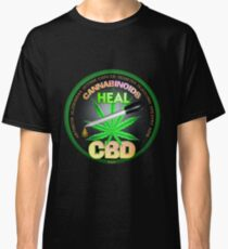 CBD Cannabinoids in Hemp oil Cures  learn truth about use of hemp oil to cure illness and pains. Classic T-Shirt