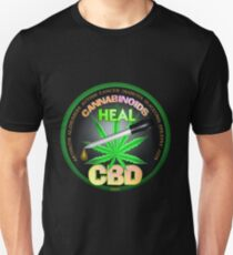 CBD Cannabinoids in Hemp oil Cures  learn truth about use of hemp oil to cure illness and pains. Slim Fit T-Shirt