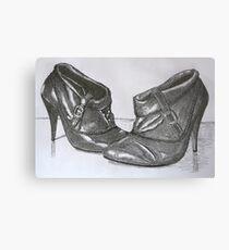 Fill My Boots Metal Print