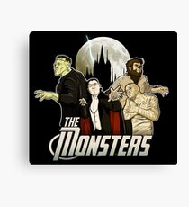 Monsters Assemble Canvas Print