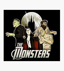 Monsters Assemble Photographic Print