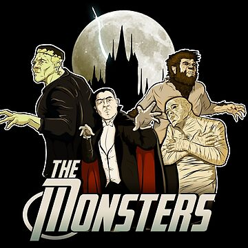 Monsters Assemble by amodesigns