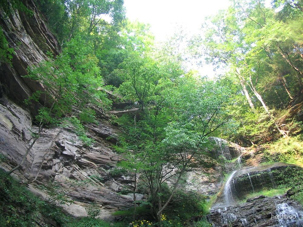 Waterfall 2 by heidiboo