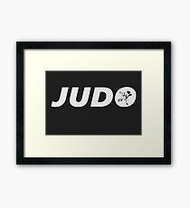 Judo Basic (Judo / BJJ / MMA) Framed Print