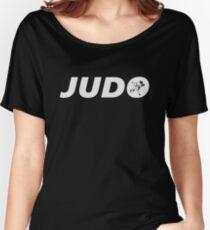 Judo Basic (Judo / BJJ / MMA) Women's Relaxed Fit T-Shirt