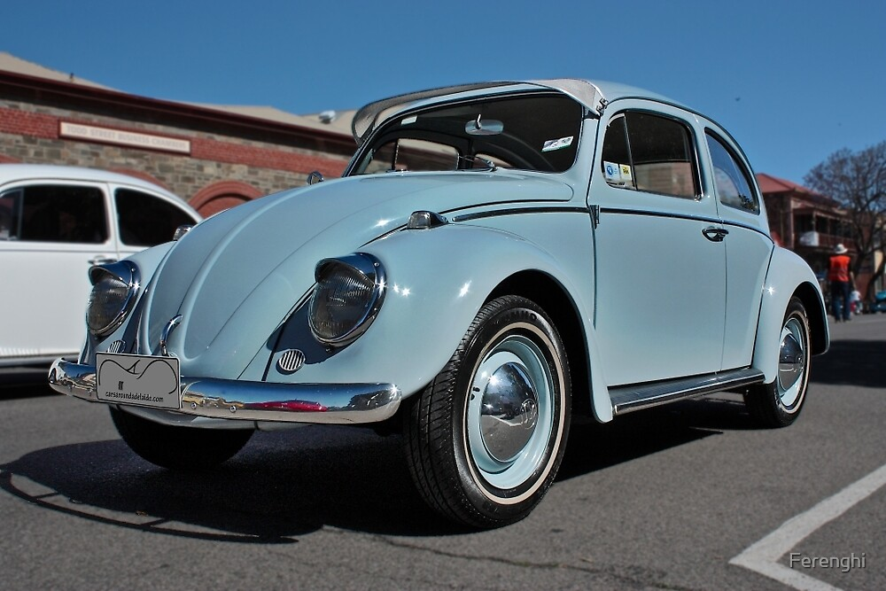 Pale Blue Volkswagen Type 1 by Ferenghi