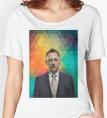 Michael Emerson (Finch, Person of Interest) Women's Relaxed Fit T-Shirt