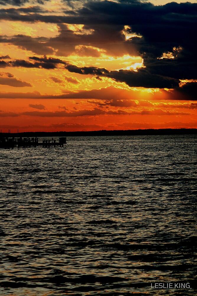 LBI SUNSET by LESLIE KING