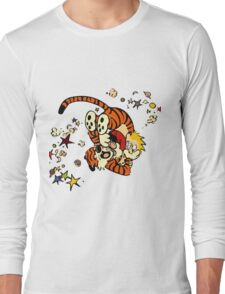 Horseplay - Calvin and Hobbes Long Sleeve T-Shirt