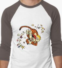 Horseplay - Calvin and Hobbes Men's Baseball ¾ T-Shirt