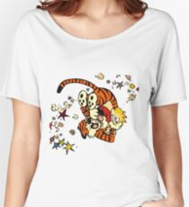 Horseplay - Calvin and Hobbes Women's Relaxed Fit T-Shirt