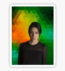 Sarah Shahi (Shaw, Person of Interest) Sticker