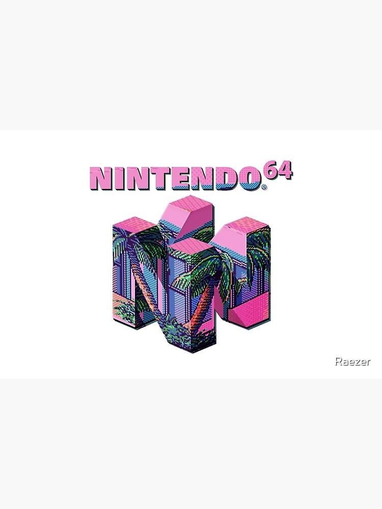 Nintendo 64 Aesthetic by Raezer