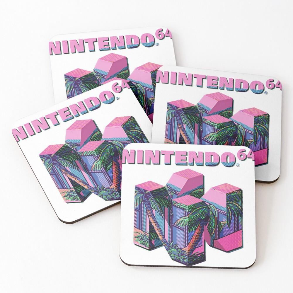 Nintendo 64 Aesthetic Coasters (Set of 4)