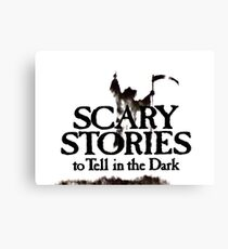 Scary Stories Canvas Print