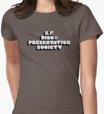 San Francisco Disco Preservation Society Womens Fitted T-Shirt