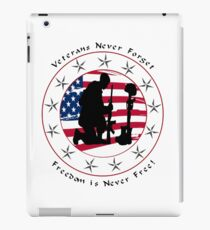 Never Forget 1.0 iPad Case/Skin
