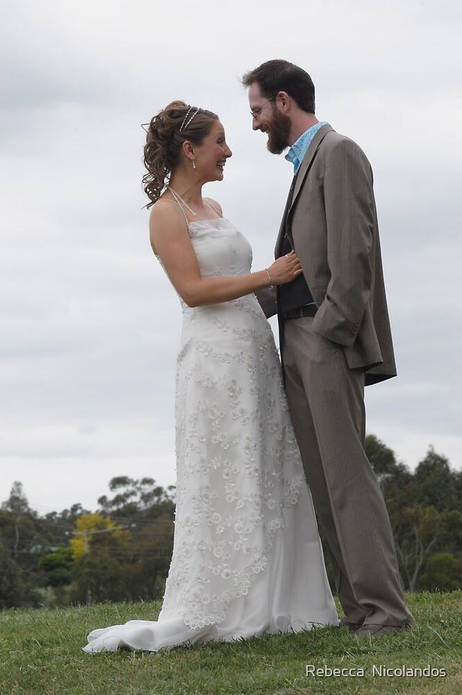 Yvette and Phil 2 by Rebecca  Nicolandos