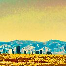 Denver City On The Plains by Catherine Fenner