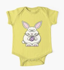 Easter Bunny Family Photo Tshirt for family pictures One Piece - Short Sleeve