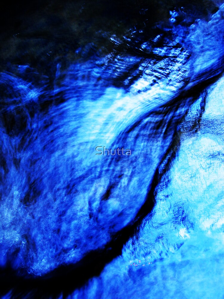 Blue water by Shutta