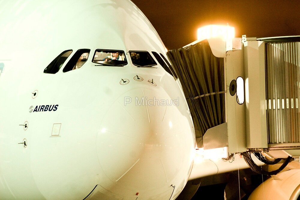 A380 VANCOUVER by P Michaud