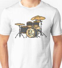 Pixel Black MC Drums T-Shirt