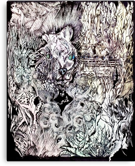 Hysteria, Mixed Media by Danielle Scott