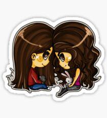 Elena and Katherine Sticker