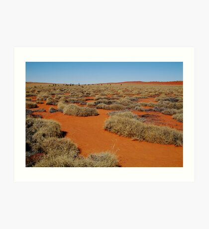 Spinifex Valley, Madigan Line, Simpson Desert Art Print
