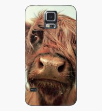 Hairy Coo Case/Skin for Samsung Galaxy