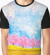 Lakeside blossoms Graphic T-Shirt