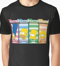 Simpsons arcade character select Graphic T-Shirt
