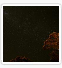 Starry Nature Night Sticker