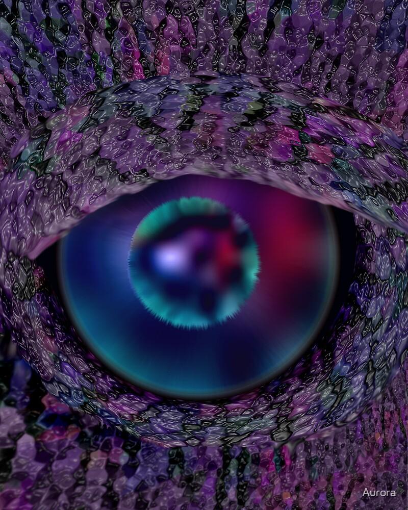 Dragon eye by Aurora