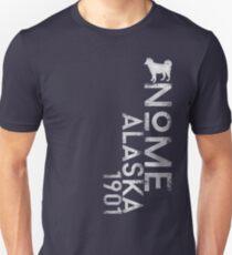 Nome, Alaska (White Silhouette Version) T-Shirt