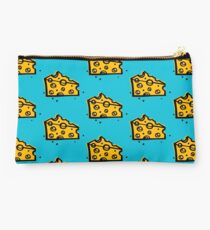 CHEESE TIME CHEESY WEDGE ILLUSTRATION Studio Pouch