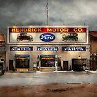 Car - Garage - Hendricks Motor Co 1928 by Michael Savad