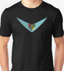 Voltron Shield in V Crest Unisex T-Shirt