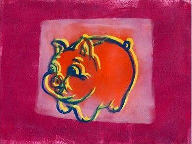 Porky by angel strehlen