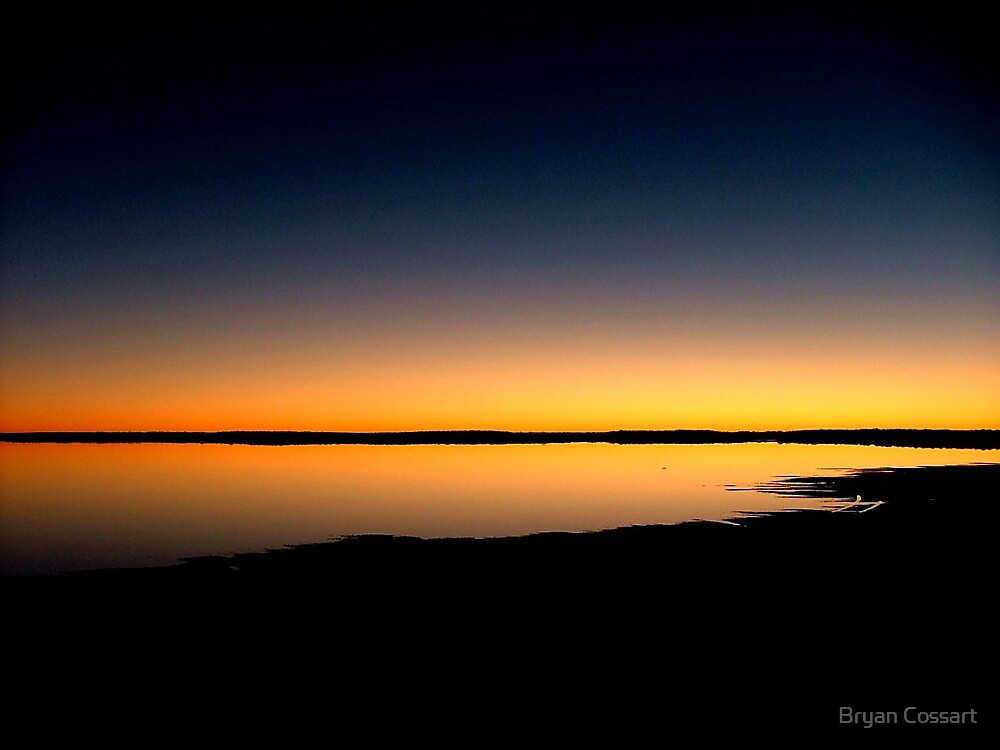 Lake Caroline Sunset by Bryan Cossart