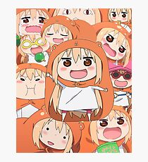 the many faces of umaru doma Photographic Print