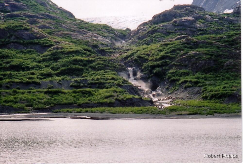 Glacial Falls by Robert Phelps