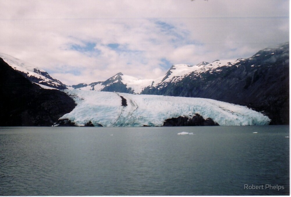 Portage Glacier - Alaska by Robert Phelps