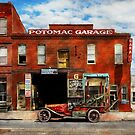Car - Garage - Misfit Garage 1922 by Mike  Savad