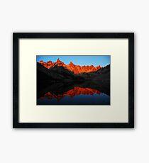 Refugio Frey // Argentina Framed Print