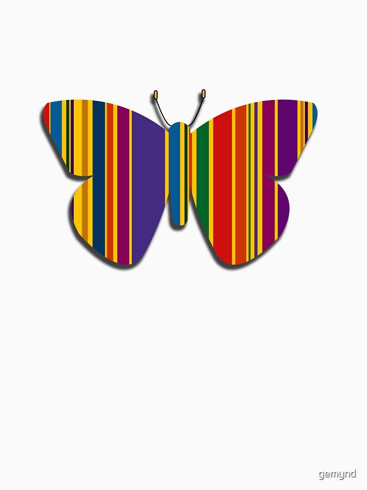 Flutterbye Stripes 2 by gemynd