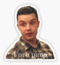Mickey Milkovich - pimp Sticker