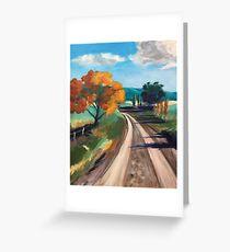 Road to Binda Greeting Card